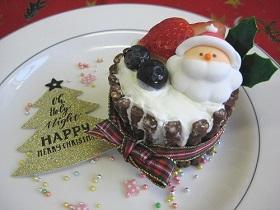 【食物栄養学科】簡単クリスマスデザートのコンテストを行いました。12/15