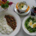 【食物栄養学科】後期給食実習を開始しました10/31