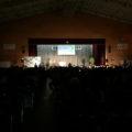 【保育学科】藤山ゆめ音楽祭で短大と付属高校、吹奏楽の演奏と税の演劇発表