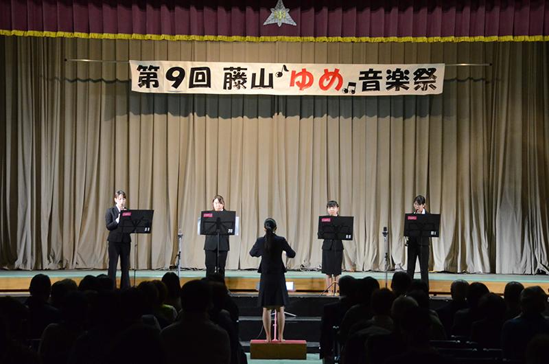 【保育学科】リコーダー同好会、「藤山ゆめ音楽祭」で披露しました!