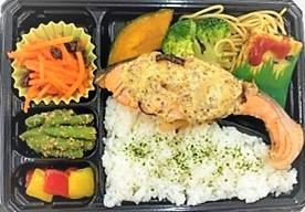 【食物栄養学科】「たっっっぷり野菜が摂れるっちゃ!春の先取り うべ短弁当」の販売が始まります!
